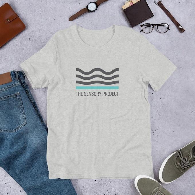TSP Adult Logo T-Shirt - Unisex - Sizes S-4XL - Grey