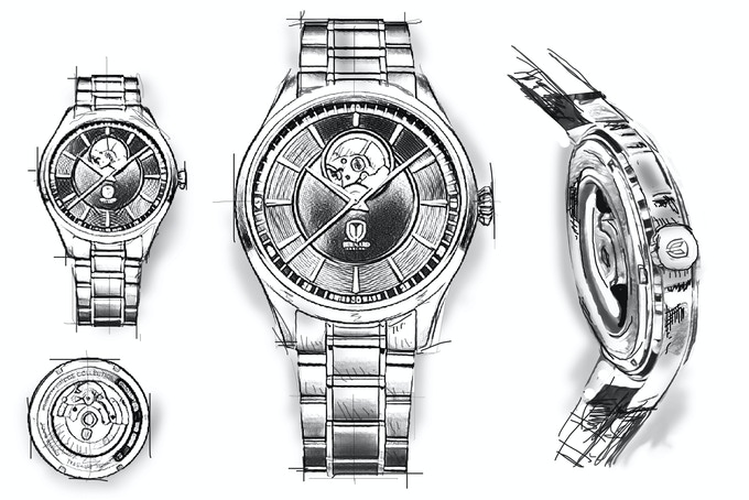 Initial Watch Sketch Design