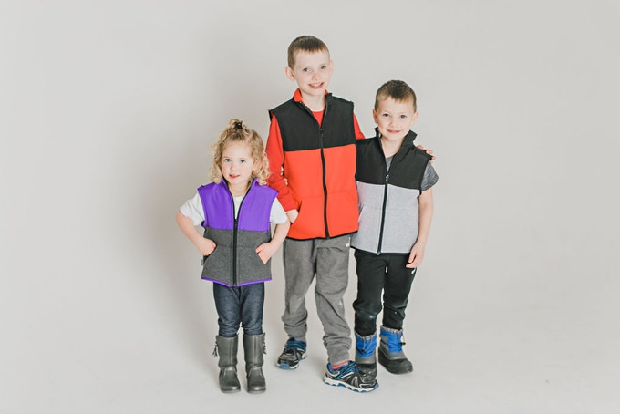 Weighted vests provide similar proprioceptive input to improve organization of behavior.