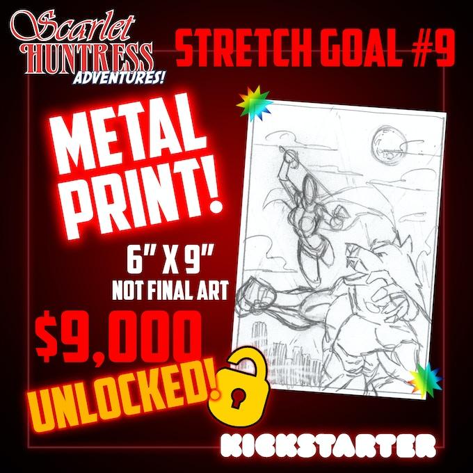 Stretch Goal 9 Metal Print