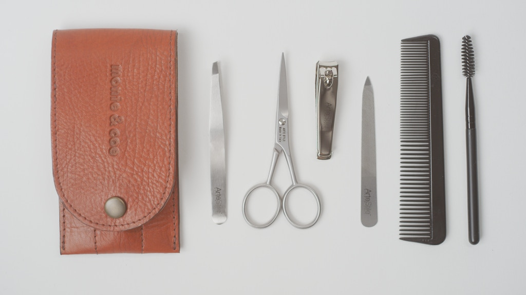 Artestile x monte & coe - Luxury Handcrafted Grooming Kit