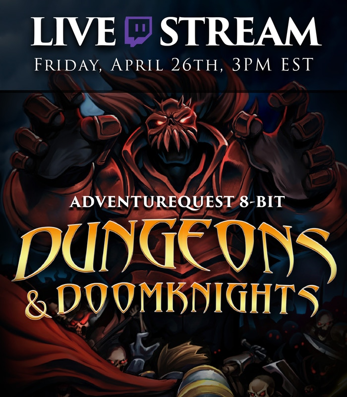Join us live on the Artix Entertainment Twitch Channel