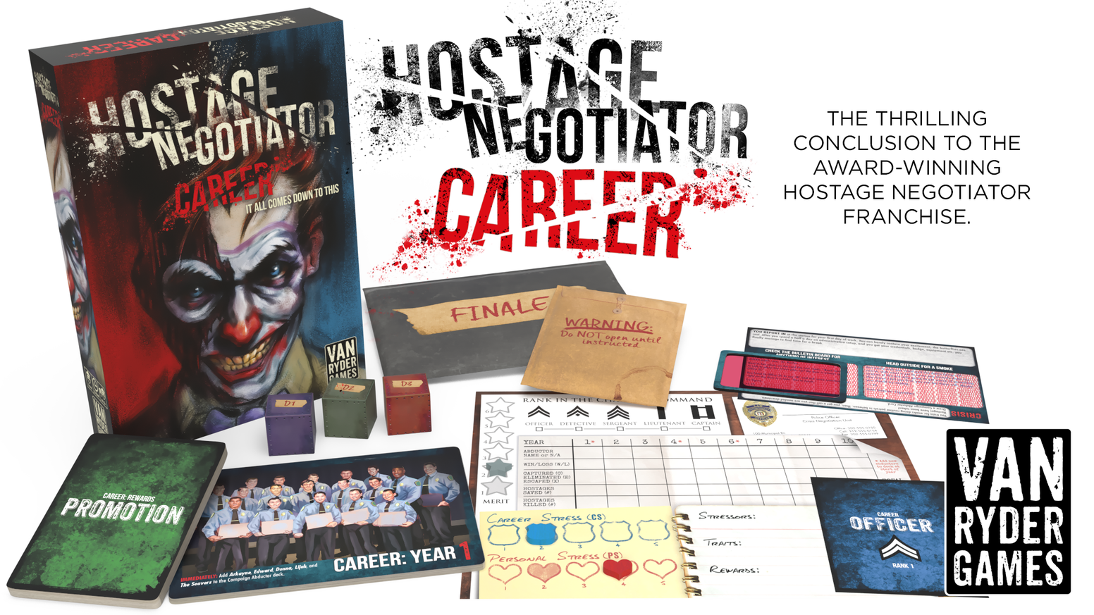 An overarching campaign for the Hostage Negotiator solitaire game!