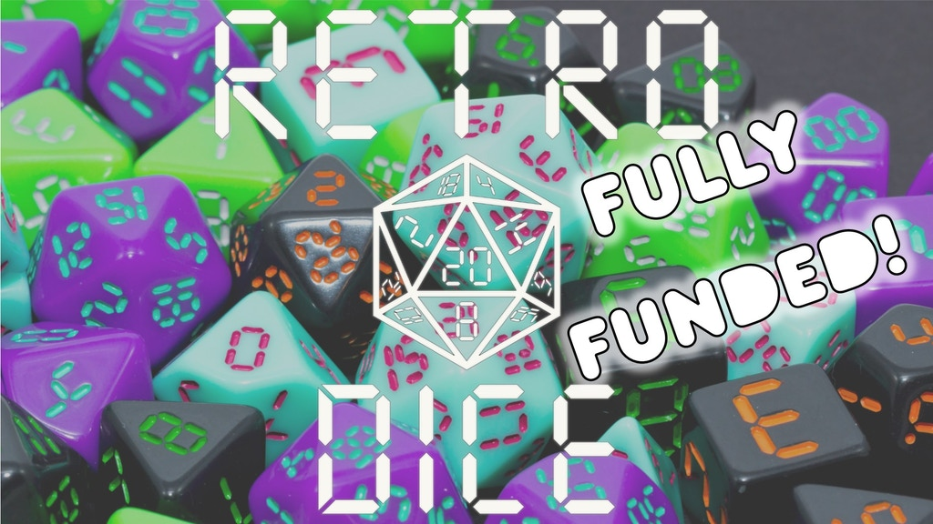 Retro Dice project video thumbnail