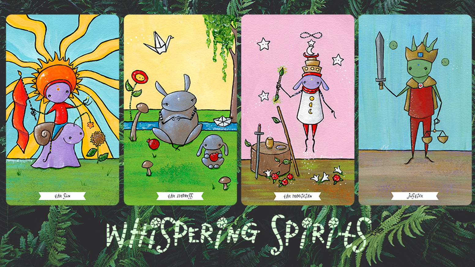 Whispering Spirits Tarot Deck and Book by Joanna Nelson