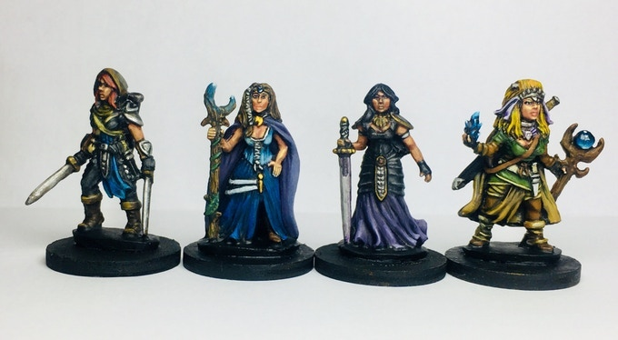 maidens of the dragon set