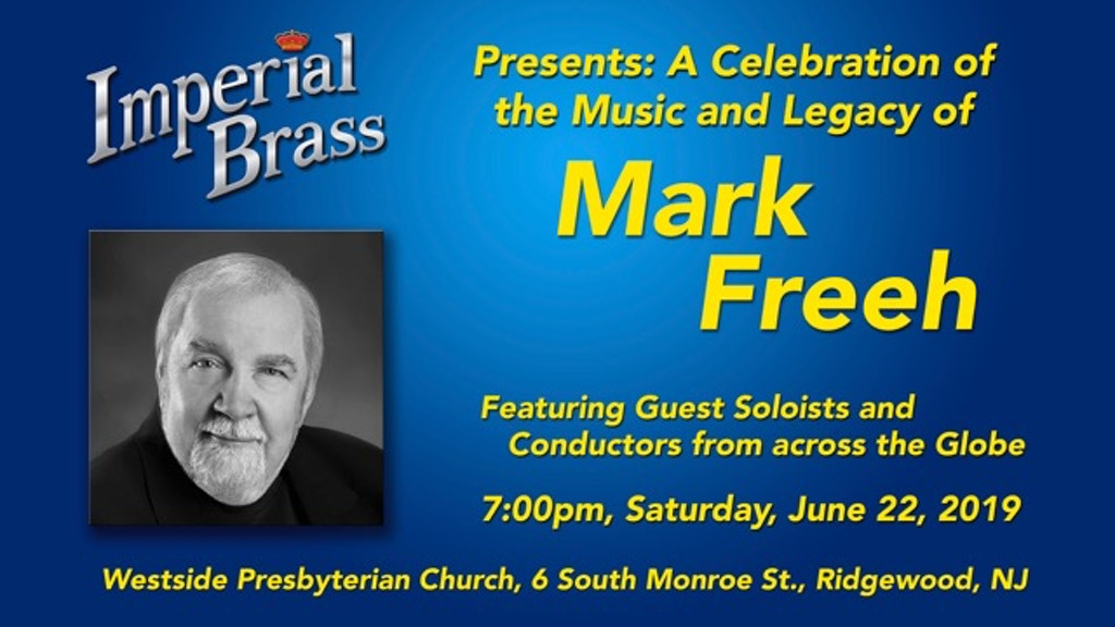 Concert for Mark Freeh project video thumbnail