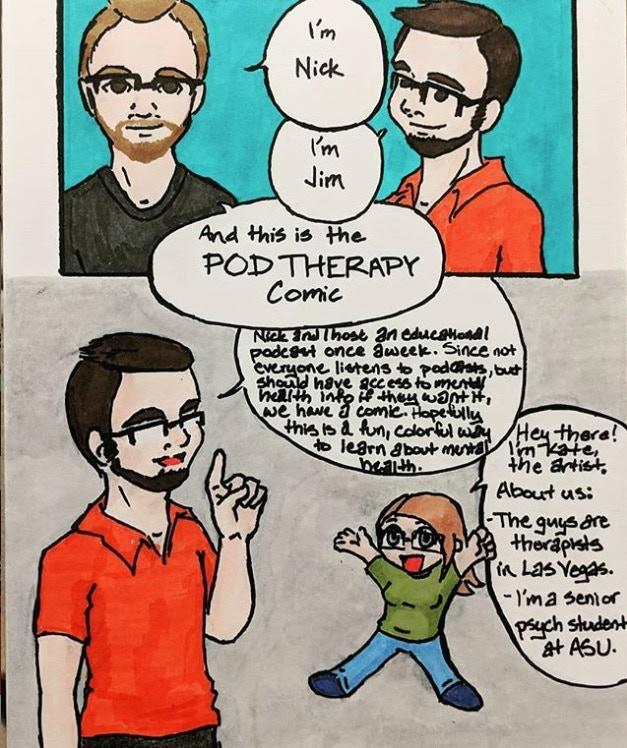 Pod Therapy Comic