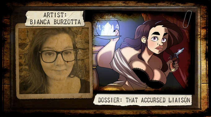 Bianca Burzotta, born in Milan in ' 89 she studied at Brera and later at the Scuola del fumetto in Milan. She currently works as a freelance designer and cartoonist while he realizes self-produced comics.