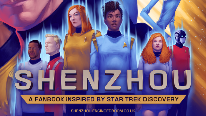 Shenzhou: A Fanbook Inspired By Star Trek Discovery by En