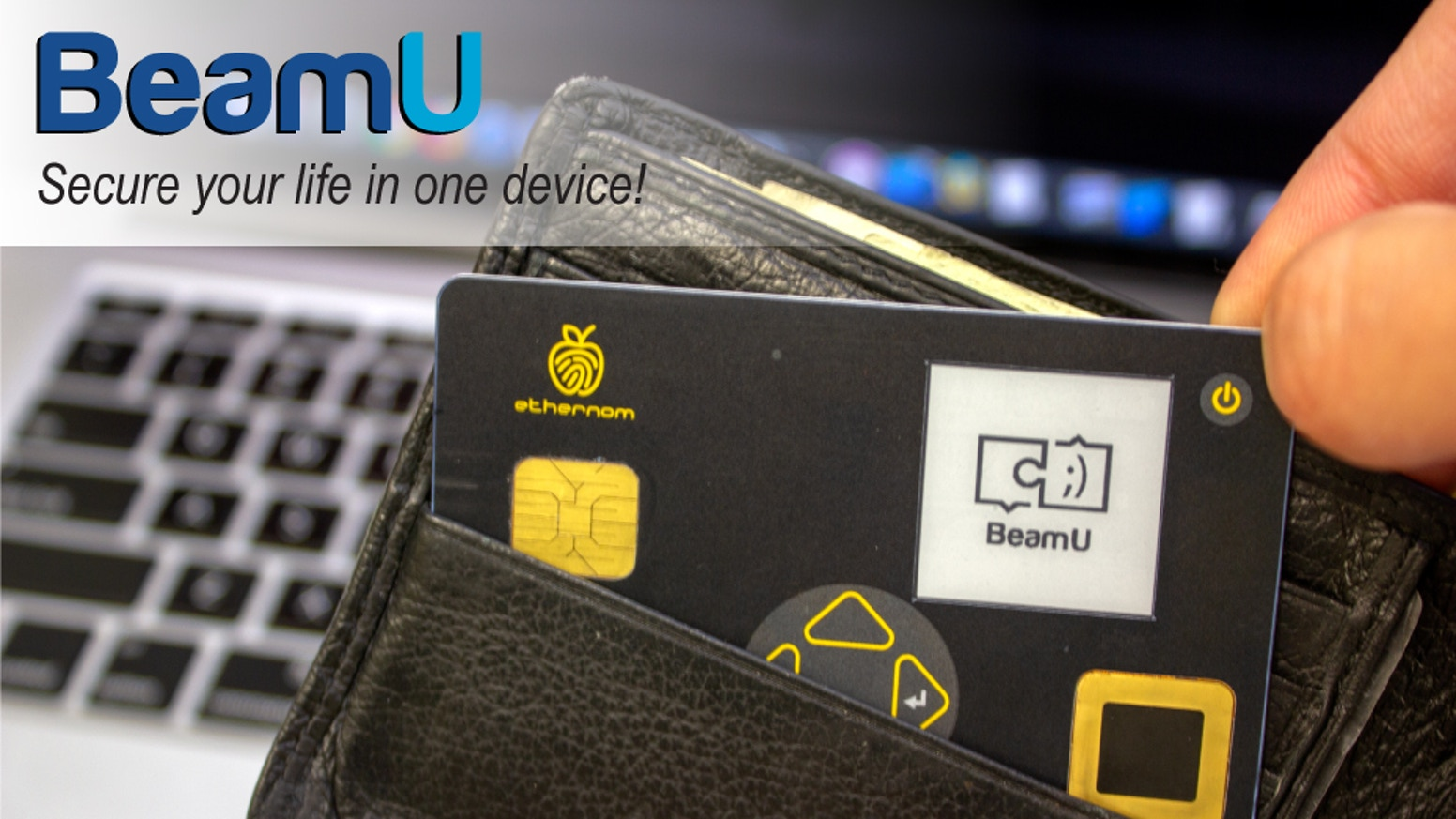 Take control of your digital life, passwords, personal data, and your physical valuables with BeamU.