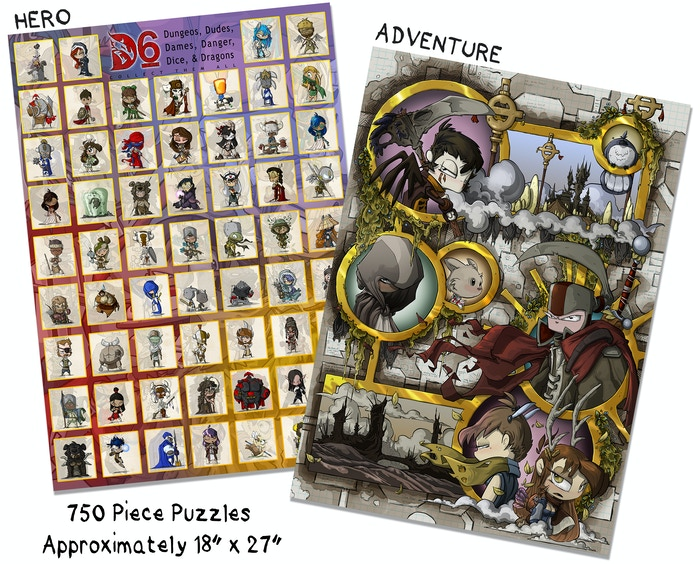 Each puzzle is $22, or you can get both for $38