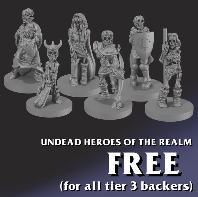 Fear not Ranger, Barbarian, Magician, Thief, Cavalier, and Acrobat! For even in death, you shall live forever...