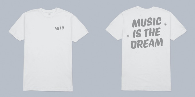 Music is The Dream T-shirt