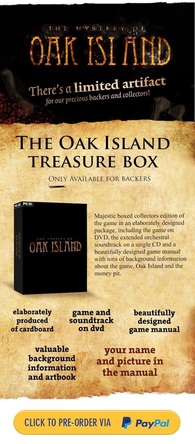 OAK ISLAND - Some Treasures Are Best Left Buried by