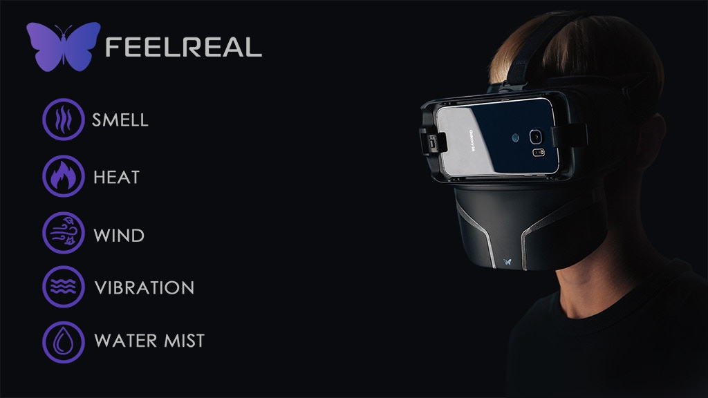 Feelreal - The World's First Multisensory VR Mask project video thumbnail