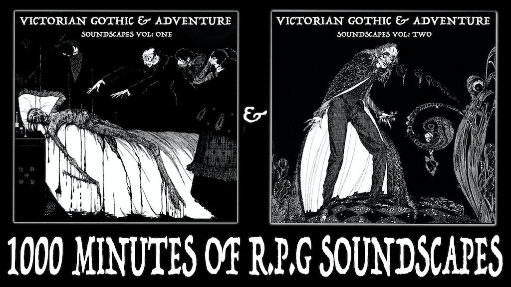 Victorian Gothic & Adventure Soundscapes Vol 1 & 2 project video thumbnail
