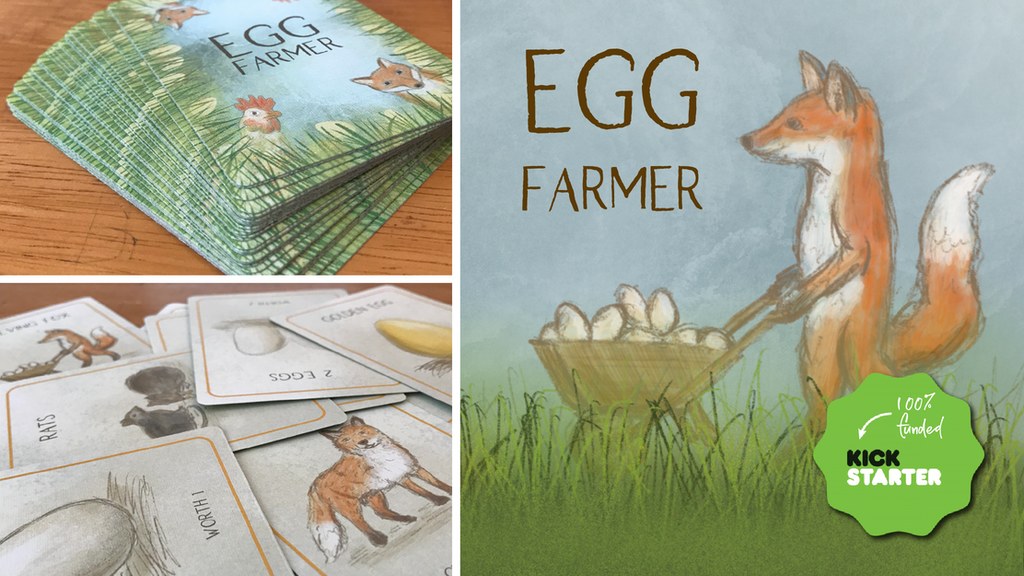 Egg Farmer: A Fun Family-Friendly Card Game project video thumbnail