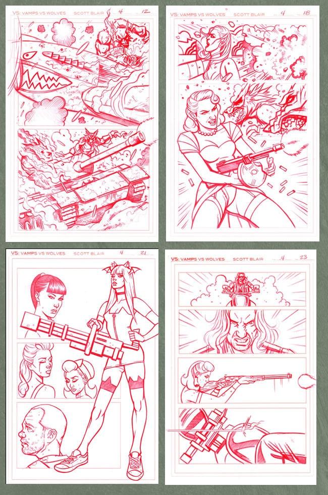VS #4 ORIGINAL PAGES 12, 18, 21, 23