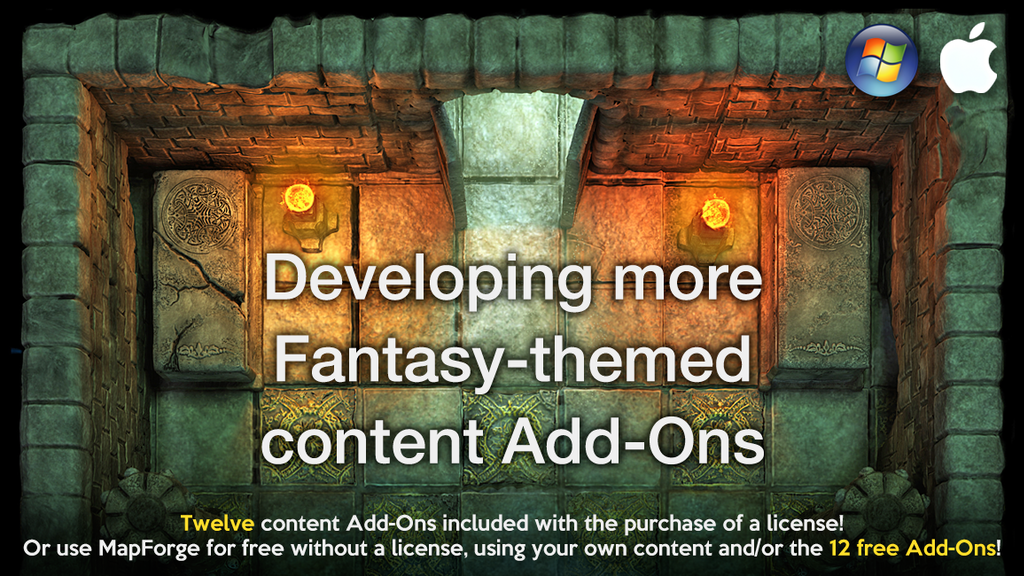 Project image for More Fantasy-genre content Add-Ons for MapForge software (Canceled)