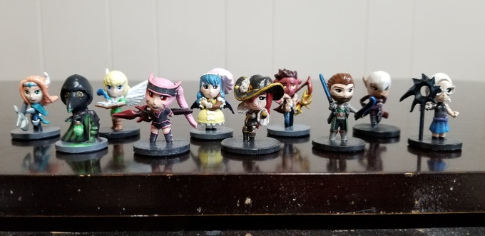Anime Miniatures from Hyper Minis