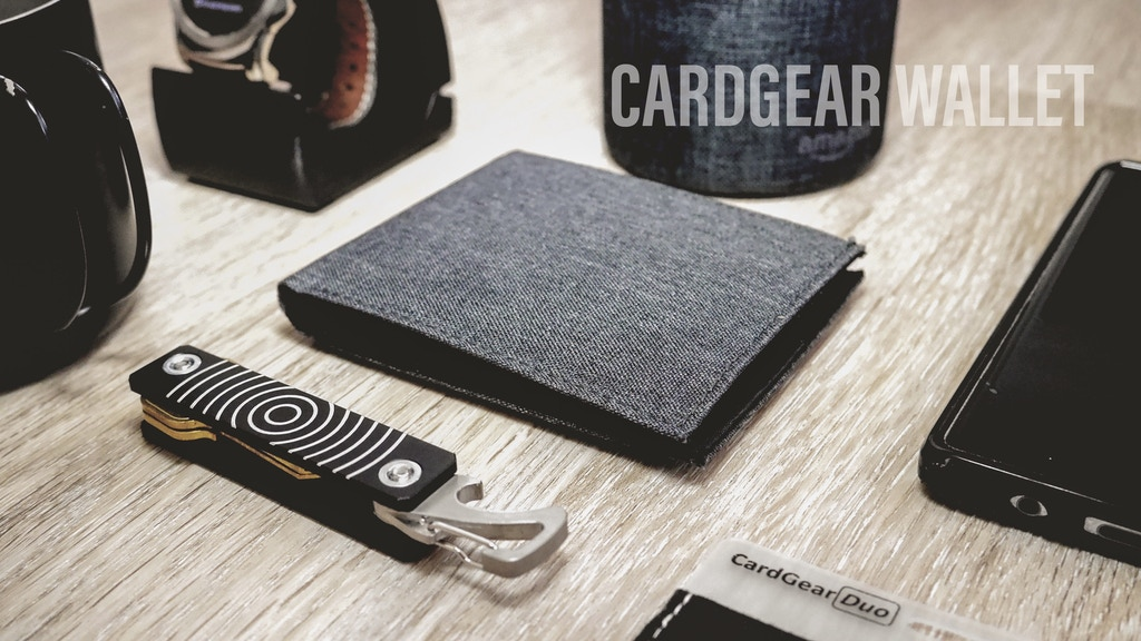 CardGear Wallet: Slim bifold wallet with fantastic features project video thumbnail
