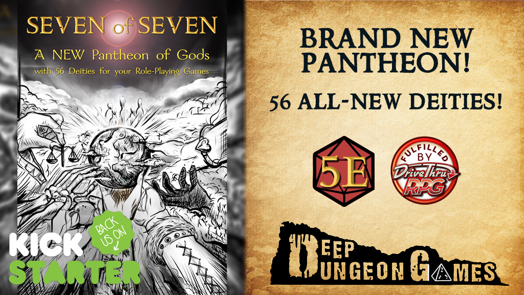 Seven of Seven: a Brand-New RPG Pantheon with 56 Deities! project video thumbnail