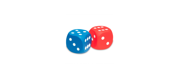 Six-sided dices
