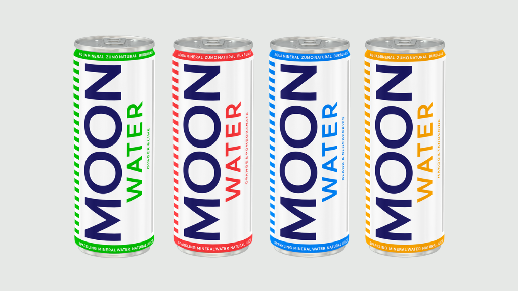 Moonwater: Healthy sparkling water inspired by the Moon project video thumbnail