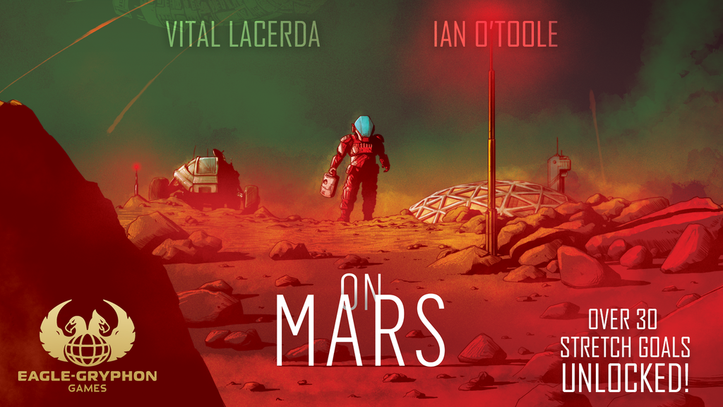 On Mars by Vital Lacerda with artwork by Ian O'Toole project video thumbnail