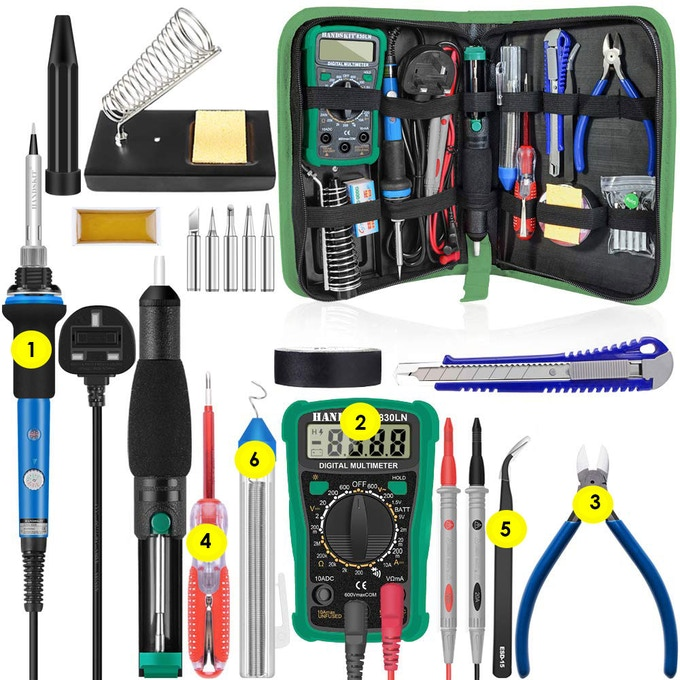 What's in the toolkit
