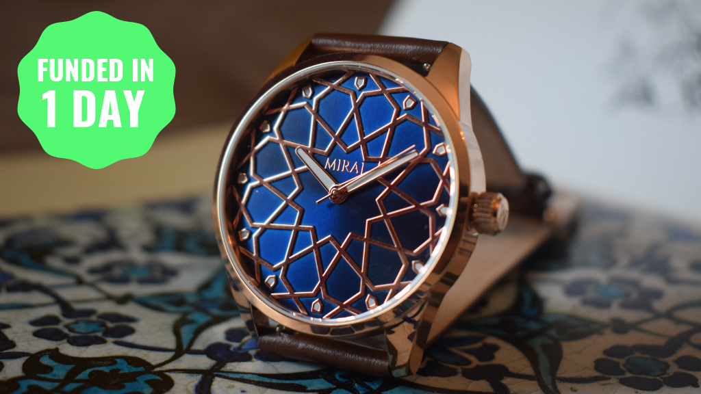 World's 1st Andalusian Inspired 3D Geometric Premium Watches project video thumbnail
