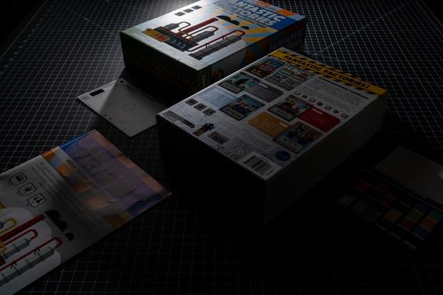 Spot UV on box