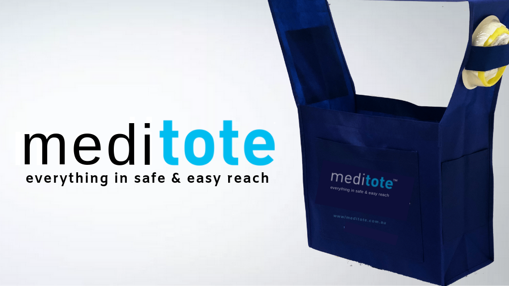Meditote: everything in safe & easy reach
