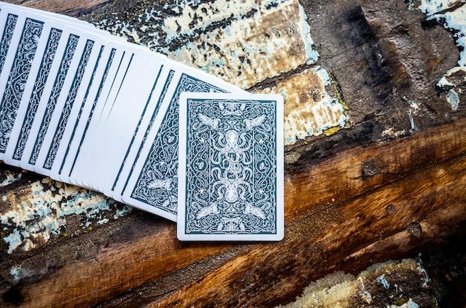 SEAFARERS Playing Cards in Sea Green