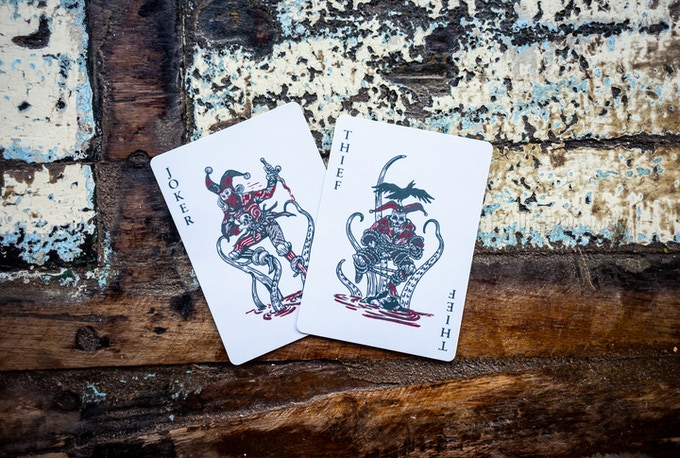 One Joker Card. One Thief Card.