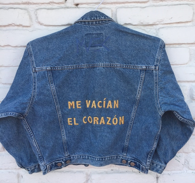MVEC jacket Me Vacian El Corazon