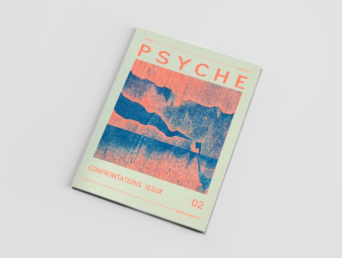 Psyche 2 : The Confrontations issue LIMTED EDITION BLUE AND ORANGE COVER  *digital mock up*