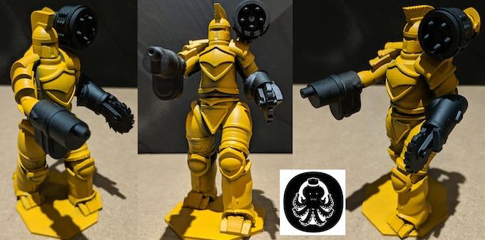 3D Printed Resin Prototype