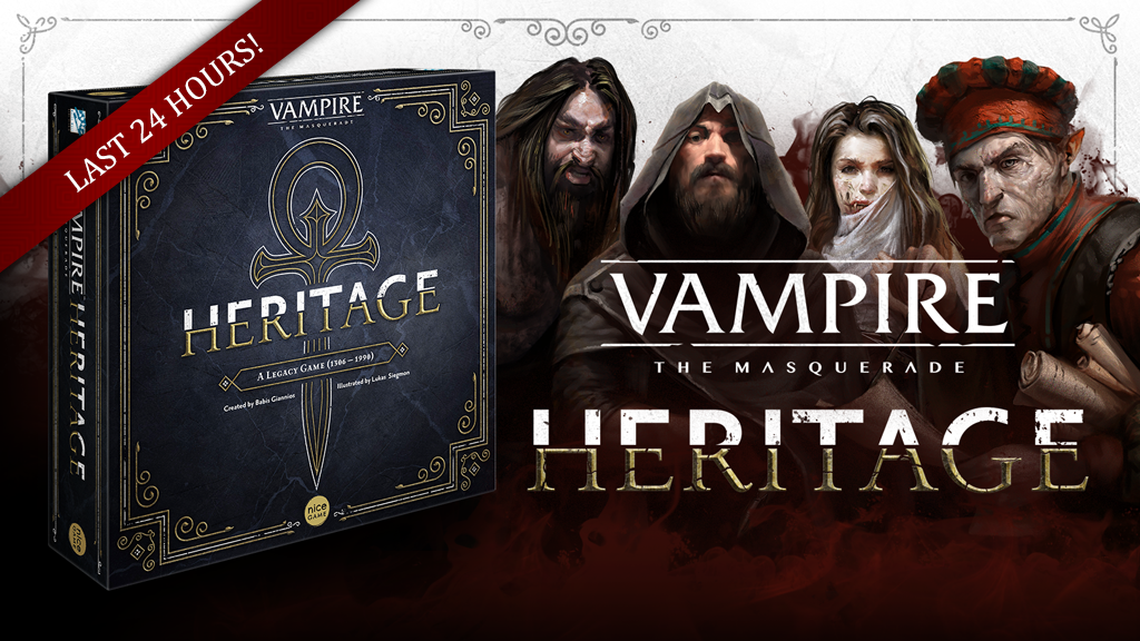 Vampire: The Masquerade - Heritage by Nice Game Publishing