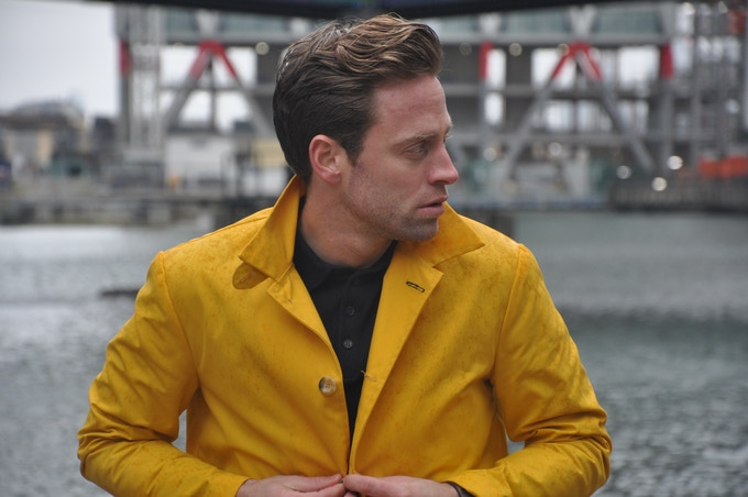 Wax Yellow with Traditional Collar