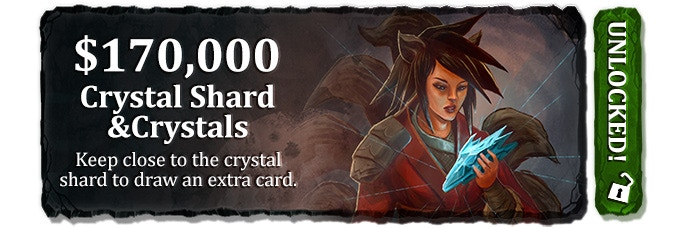 (set of 10 cards - 1 Battle deck; plus 10 acrylic crystals)