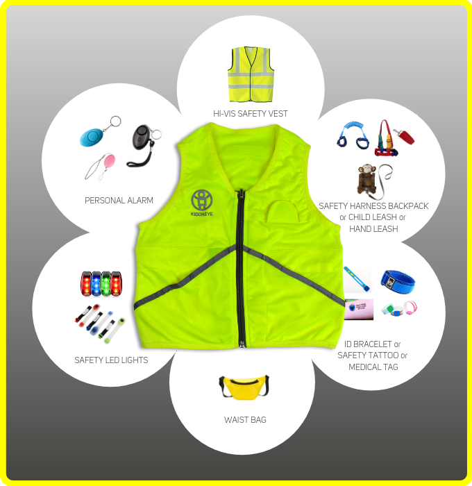 1 Kidoneye vest replaces 6 other products!