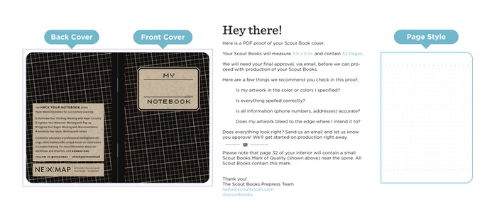 HACK YOUR NOTEBOOK - paper meets electronics by David Cole — Kickstarter