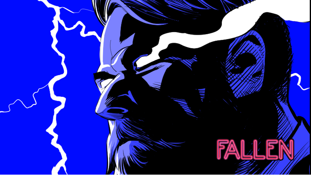 FALLEN #1- An 80's Detective Story with a Mythological Twist project video thumbnail