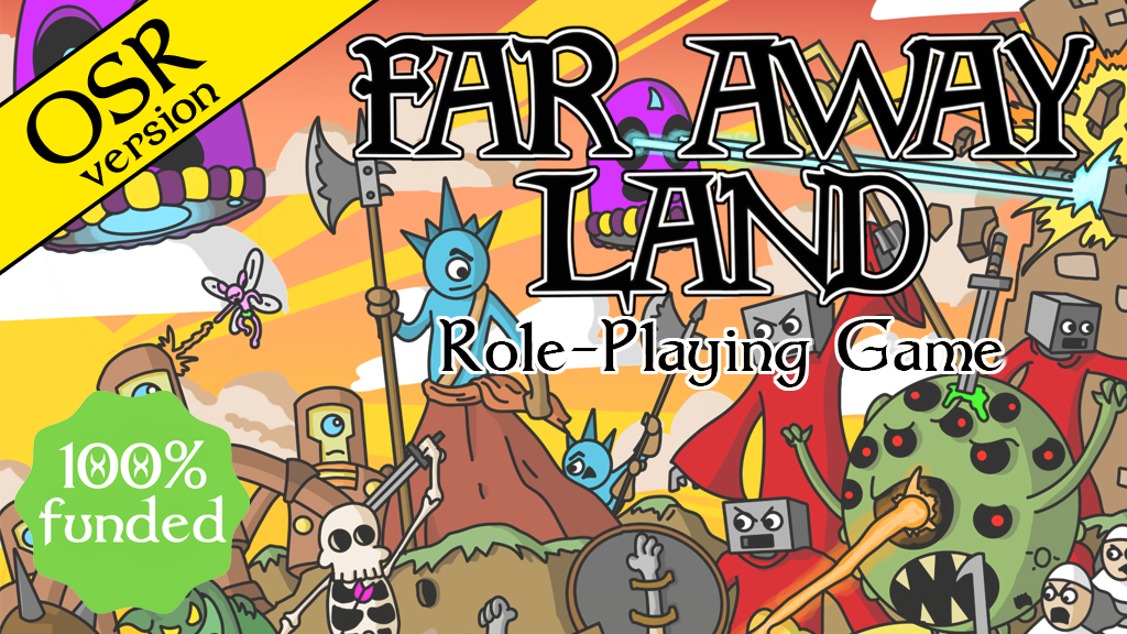 Far Away Land Old School Role-Playing Game project video thumbnail