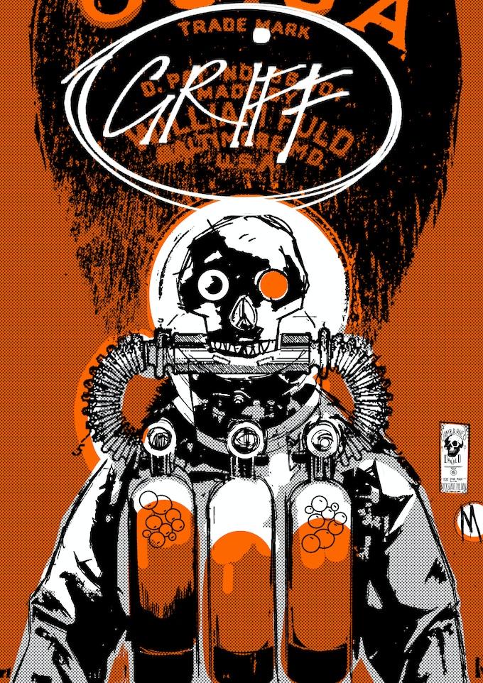 Russell MacEwan's incredible steampunk interpretation of Griff...