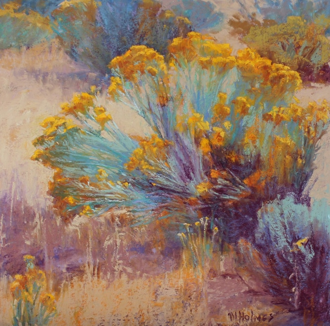 """""""SEPTEMBER'S SONG"""" Signed/numbered Giclee  14"""" x 14"""" Image in Book."""
