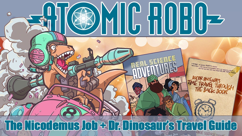 THE NICODEMUS JOB and also Doctor Dinosaur wrote a book :( project video thumbnail