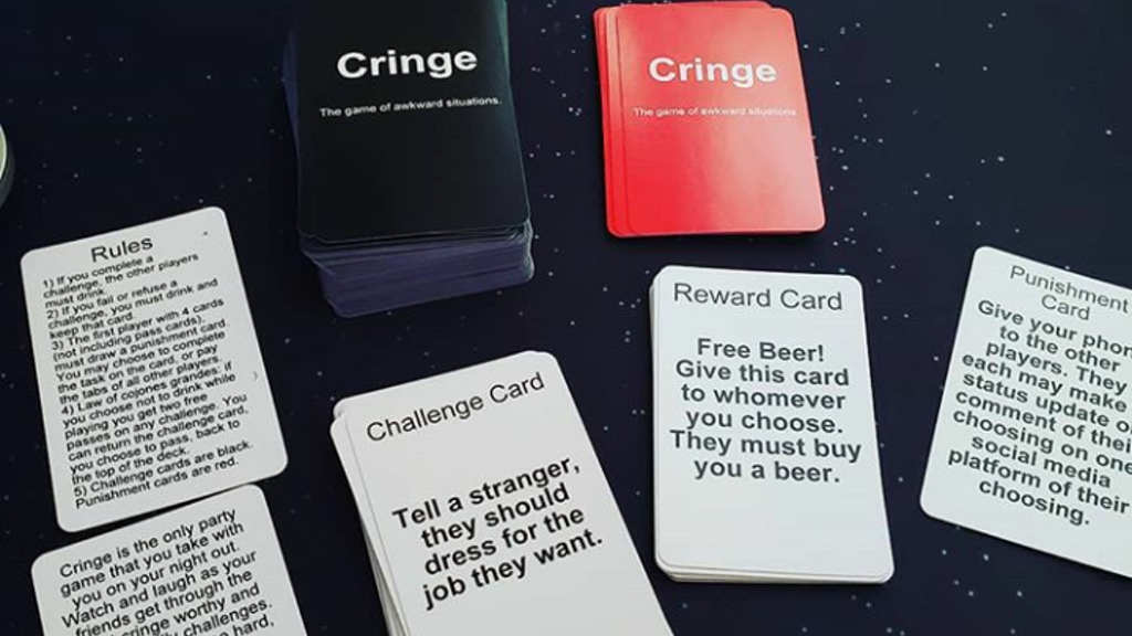 Project image for Cringe the Game of Awkward Situations